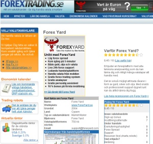 recension av forex yard