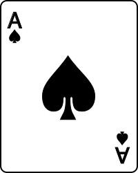 spelkort spader